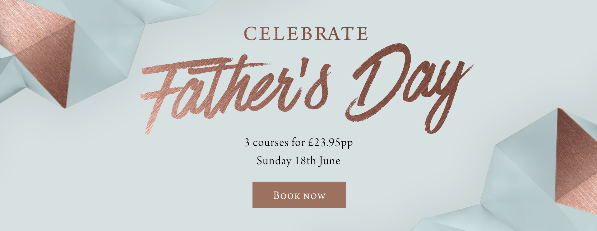 Father's Day at The Langton - Book now